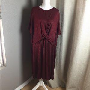 Plus Ava & Viv short sleeve dress